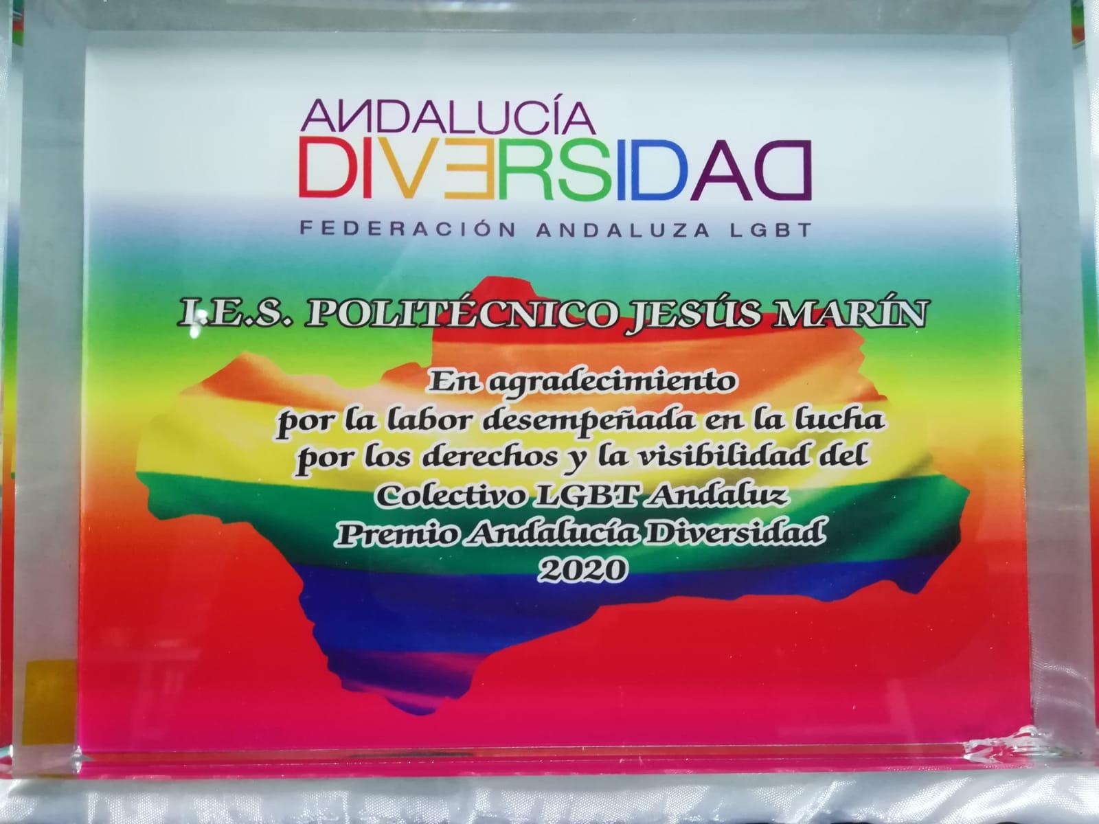 Imagen de la noticia: Premio Andalucía Diversidad - IV Edición
