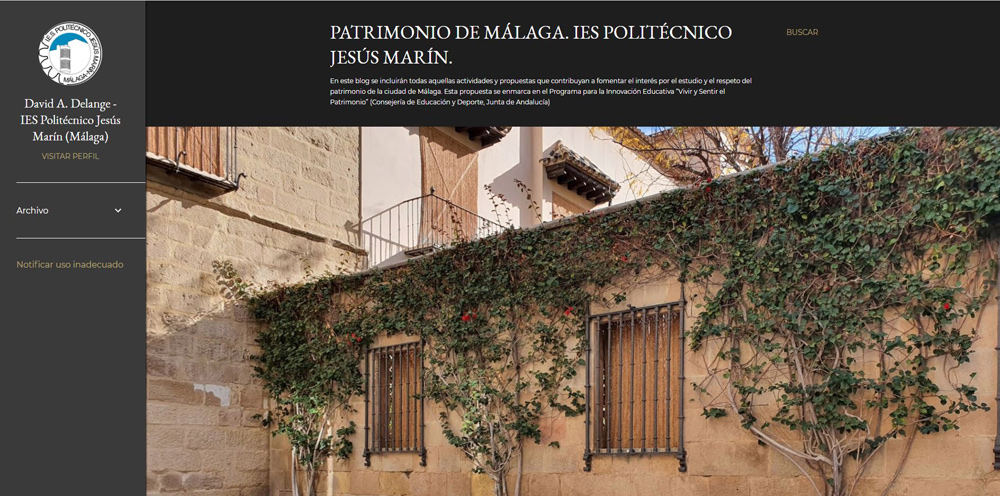 Imagen de la noticia: El blog del Politécnico sobre el patrimonio de Málaga