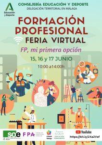 Imagen de la noticia: Feria virtual de Formación Profesional Málaga 15-17 junio